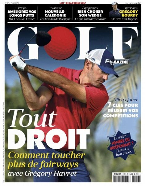 Golf Magazine France - Août 2016