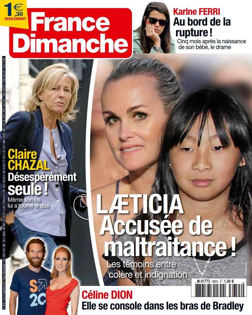 France Dimanche - 16 au 22 Septembre 2016