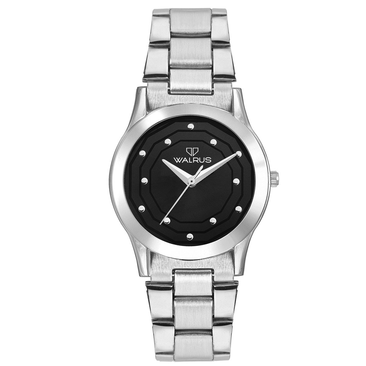 Walrus Anna Black Color Analog Women Watch -WWW-Anna -020707