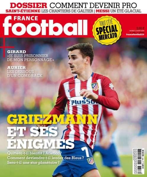 France Football 3666 - 2 Août 2016