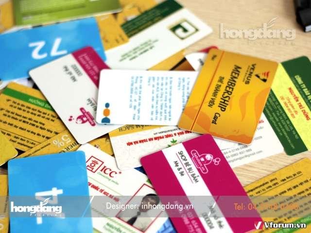 Các doanh nghiệp nên in thẻ VIP kích cầu mua sắm
