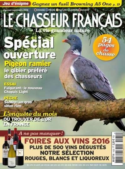 Le Chasseur français - Septembre 2016
