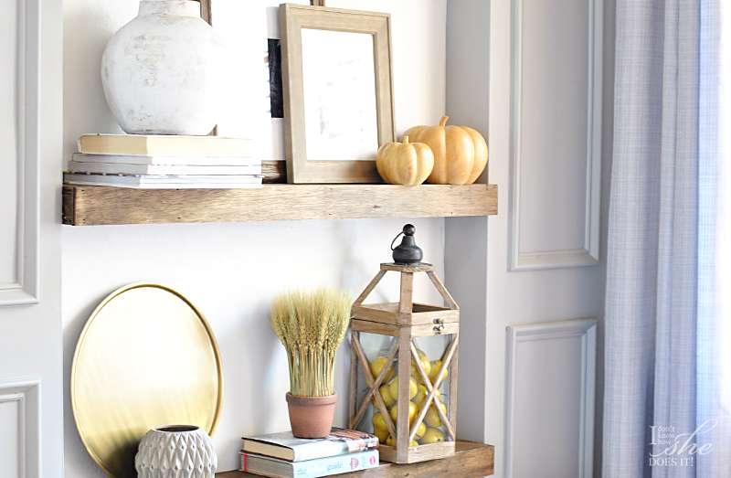 Fall wall shelves 2