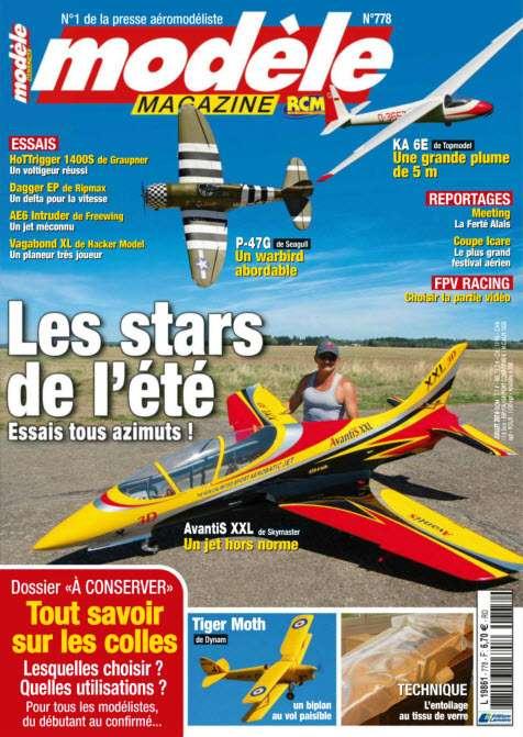 Modèle Magazine - Juillet 2016