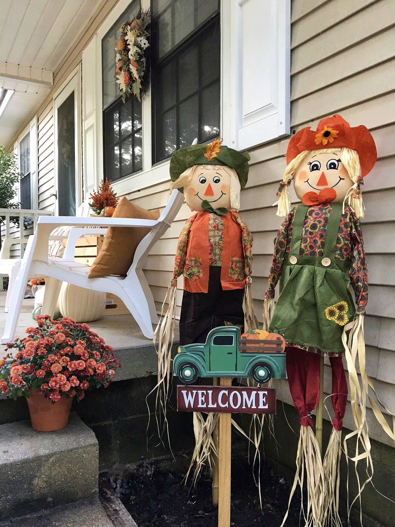 Michaels Makers Autumn Porch Makeover