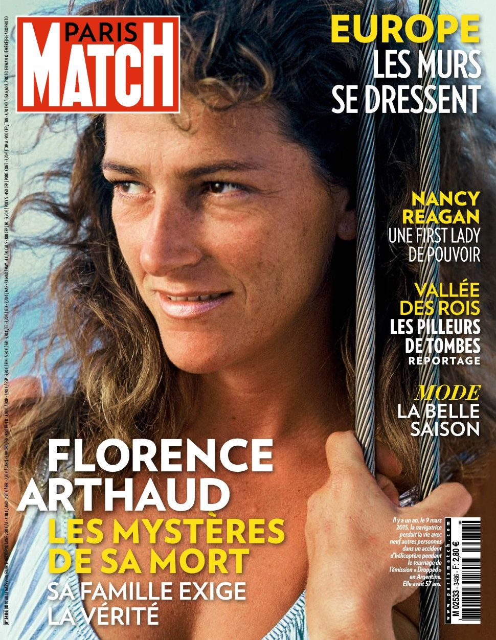 Paris Match 3486 - 10 au 16 Mars 2016