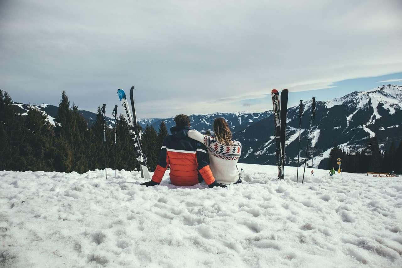 Wintersport saalbach hinterglemm austria