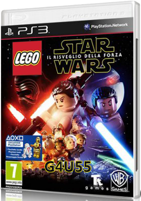 LEGO STAR WARS The Force Awakens DOWNLOAD PS3 ITA (2016)