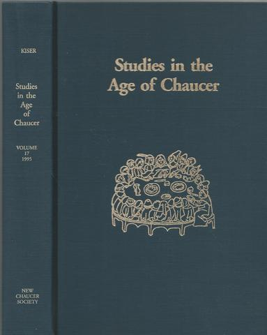 Studies in the Age of Chaucer, 1995: Volume 17 (ND Studies Age Chaucer)