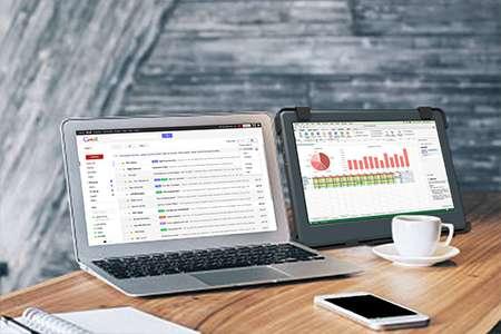 Macbook雙螢幕