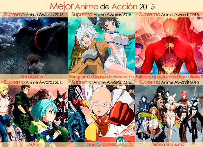 Final X Categorias Nominados a Mejor Anime de Acción 2015