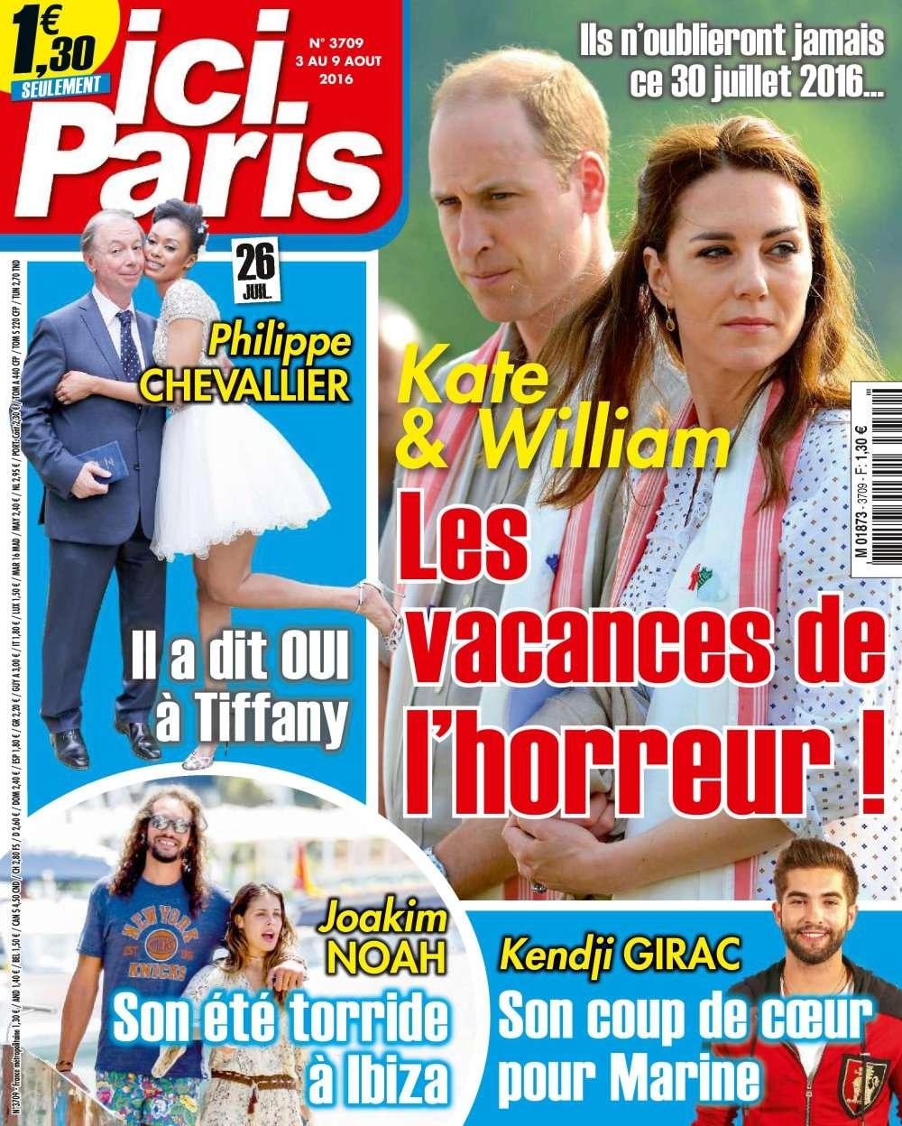 Ici Paris 3709 - 3 au 9 Août 2016