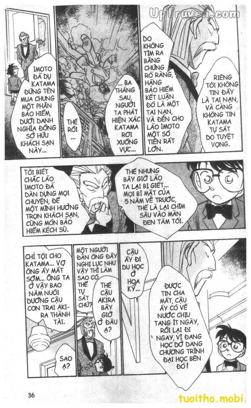 đọc truyện Conan bộ đặc biệt chap 19 trang 15
