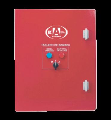 Tablero Contra Incendio Para Motor Electrico 1HP /220 3F