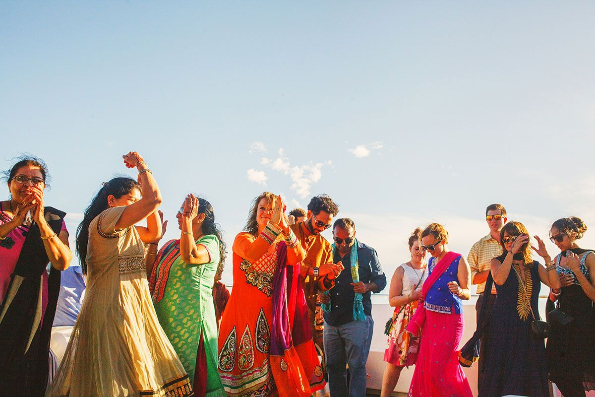 Gujarati Hindu wedding cabos san lucas mexico