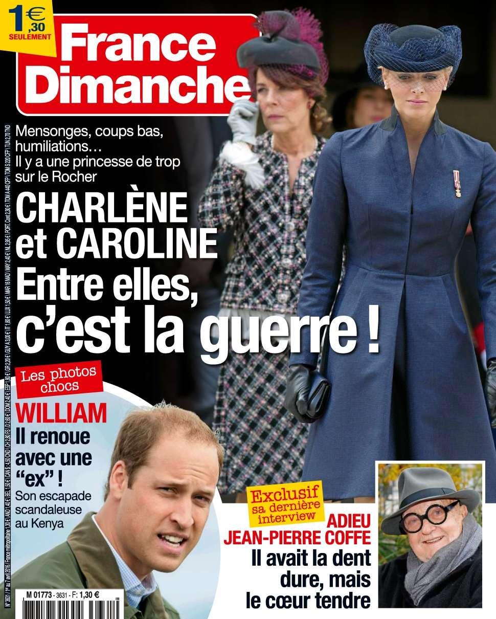 France Dimanche 3631 - 1 au 7 Avril 2016