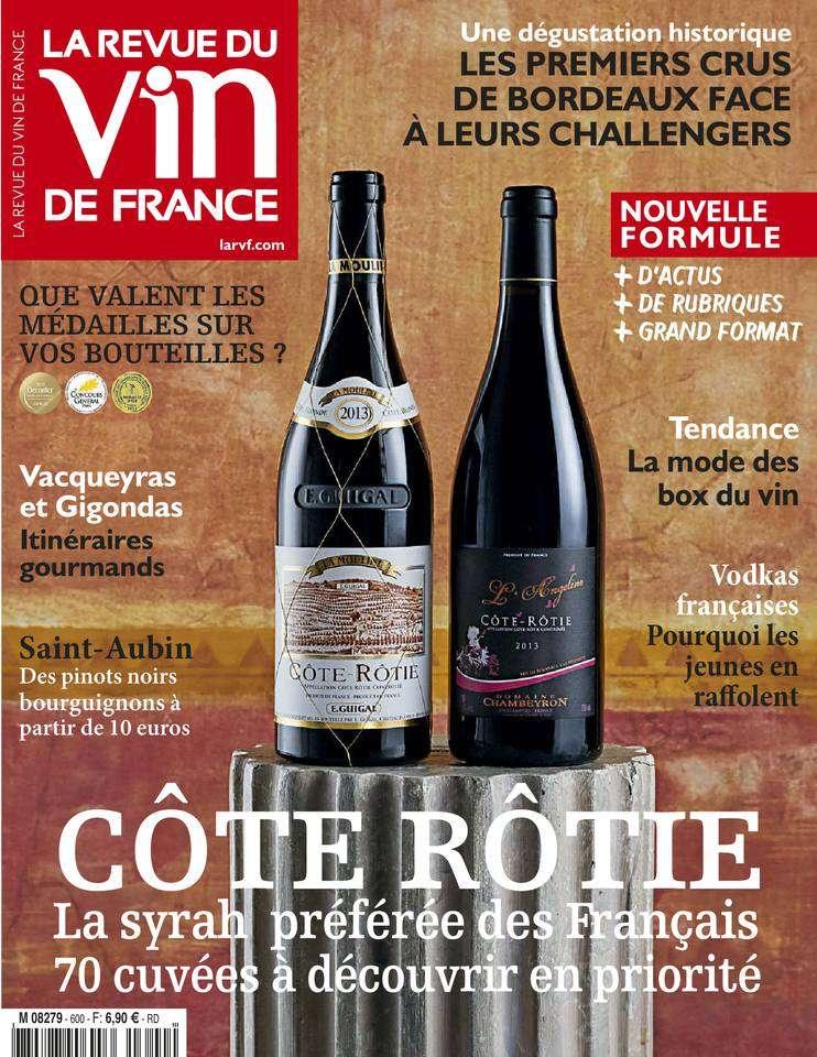 La Revue du Vin de France - Avril 2016