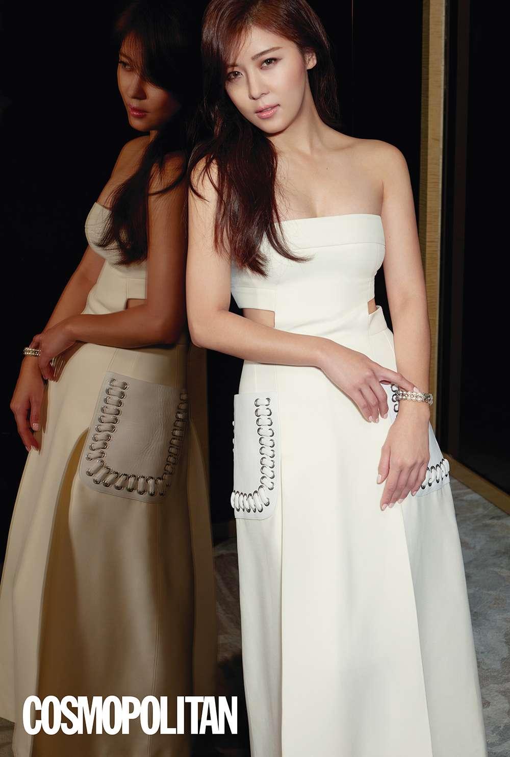 ha ji won covers cosmopolitan hong kong�s march 2016 issue