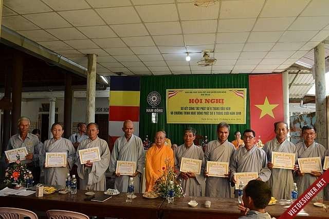 Nam Đông: Hội nghị Sơ kết công tác Phật sự 6 tháng đầu năm 2018 GHPGVN huyện.
