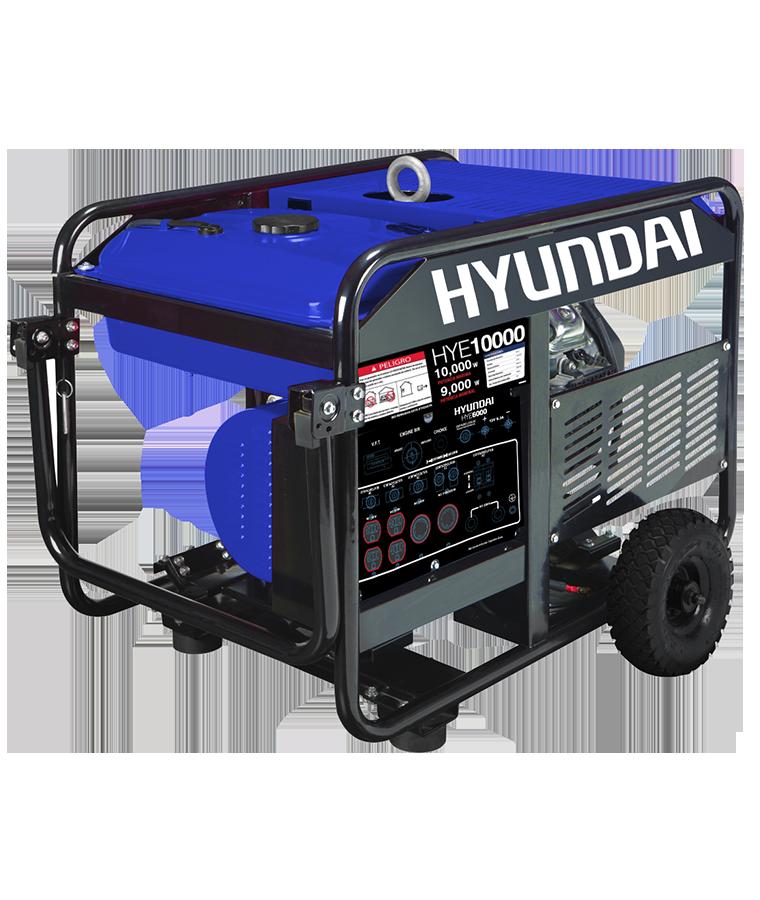 Generador Portátil Hyundai a Gasolina 4 tiempos 12500 W