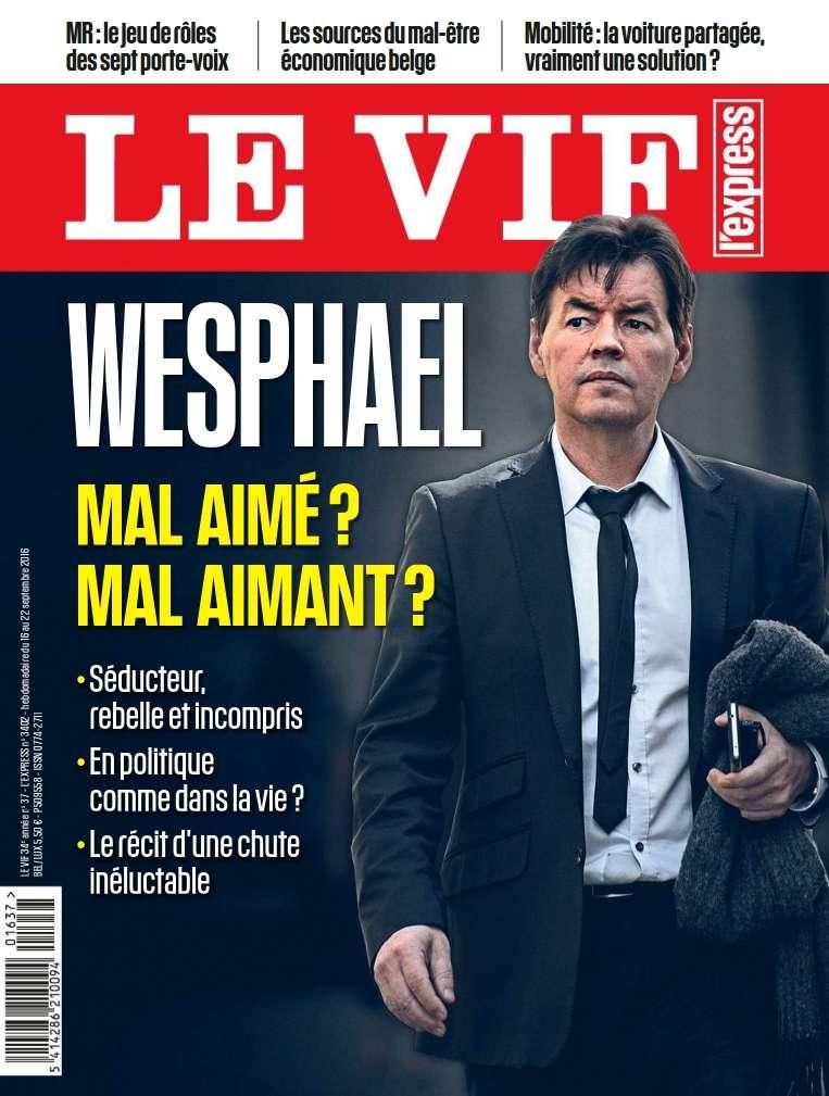 Le Vif/L'Express - 16 Septembre 2016