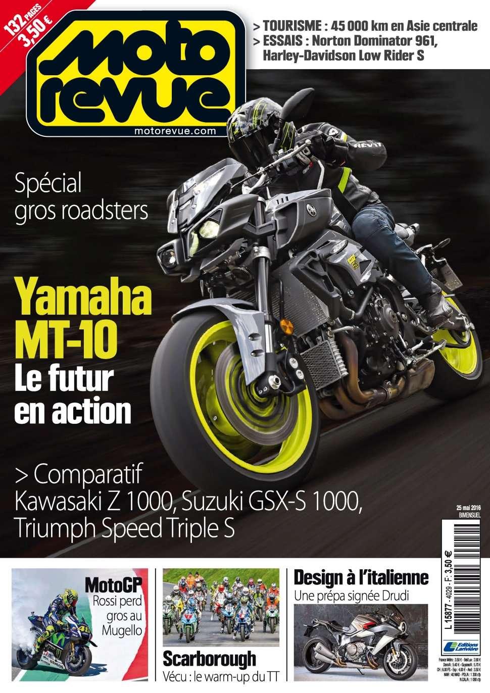 Moto Revue 4029 - 25 Mai 2016