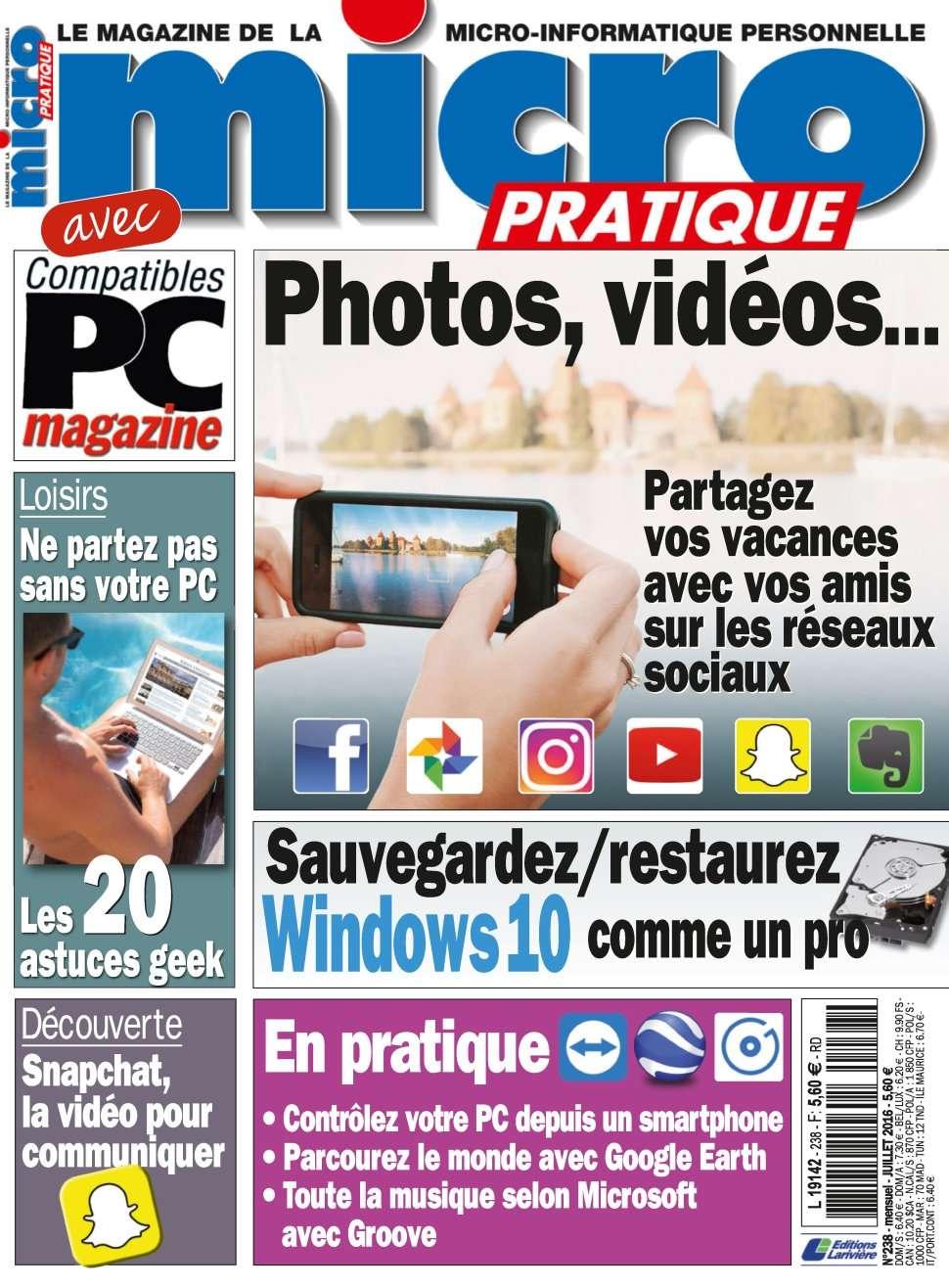 Micro Pratique 238 - Juillet 2016