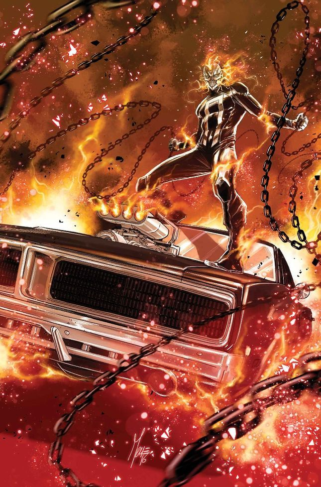 Ghost Rider Spirit Of Vengeance Car Crash