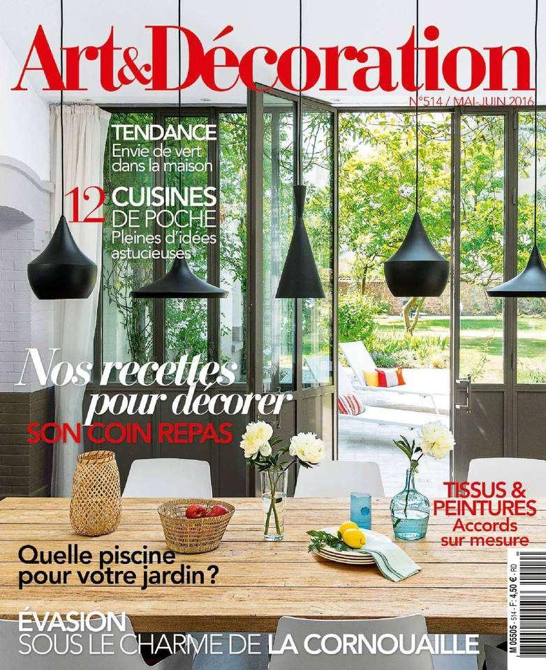 Art & Décoration 514 - Mai/Juin 2016