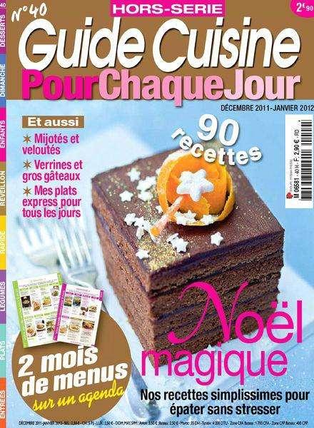 Guide Cuisine Hors-série 40