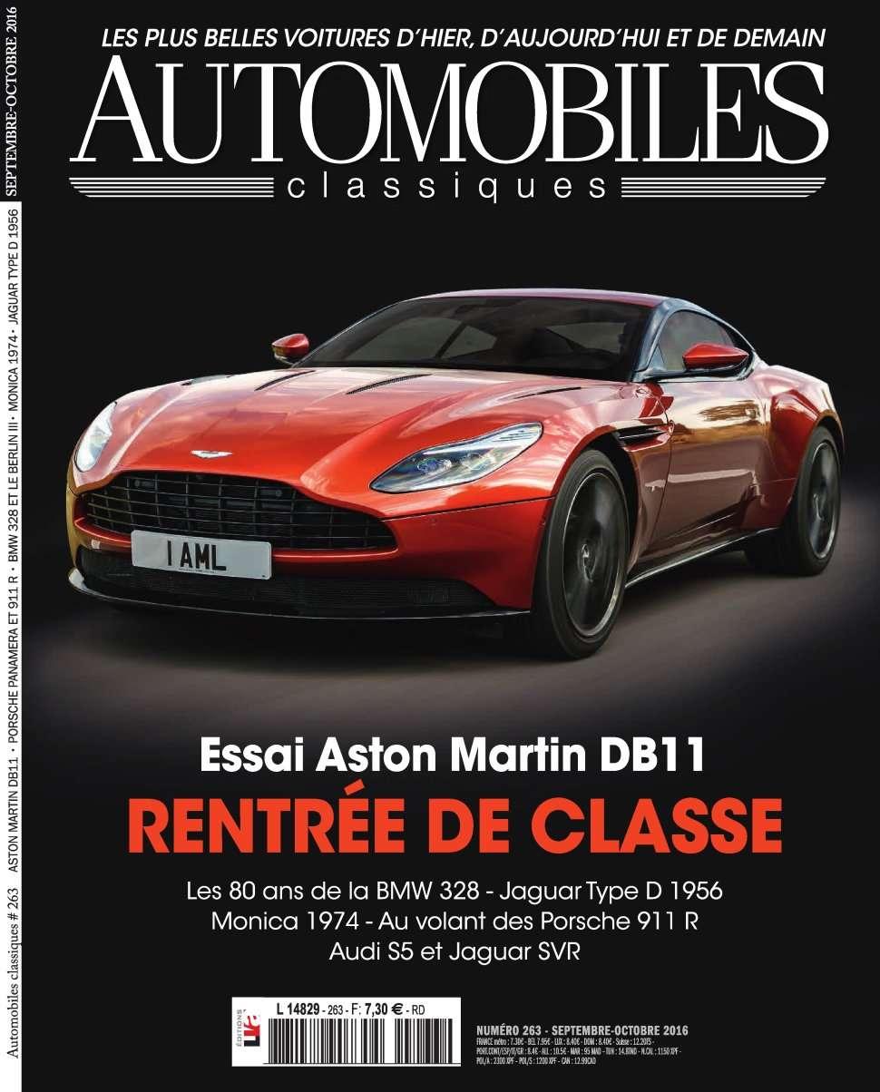 Automobiles Classiques 263 - Septembre/Octobre 2016