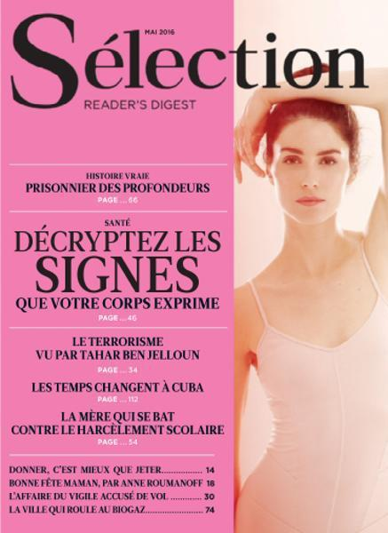 Sélection Reader's Digest France - Mai 2016