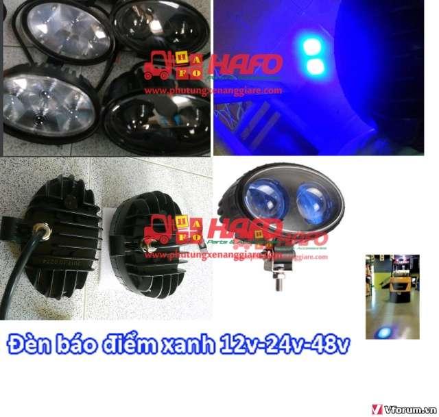 Đèn  cảnh báo 48V-12V-24V, Đèn cảnh báo xe nâng, Đèn pha xe nâng 48V - 6
