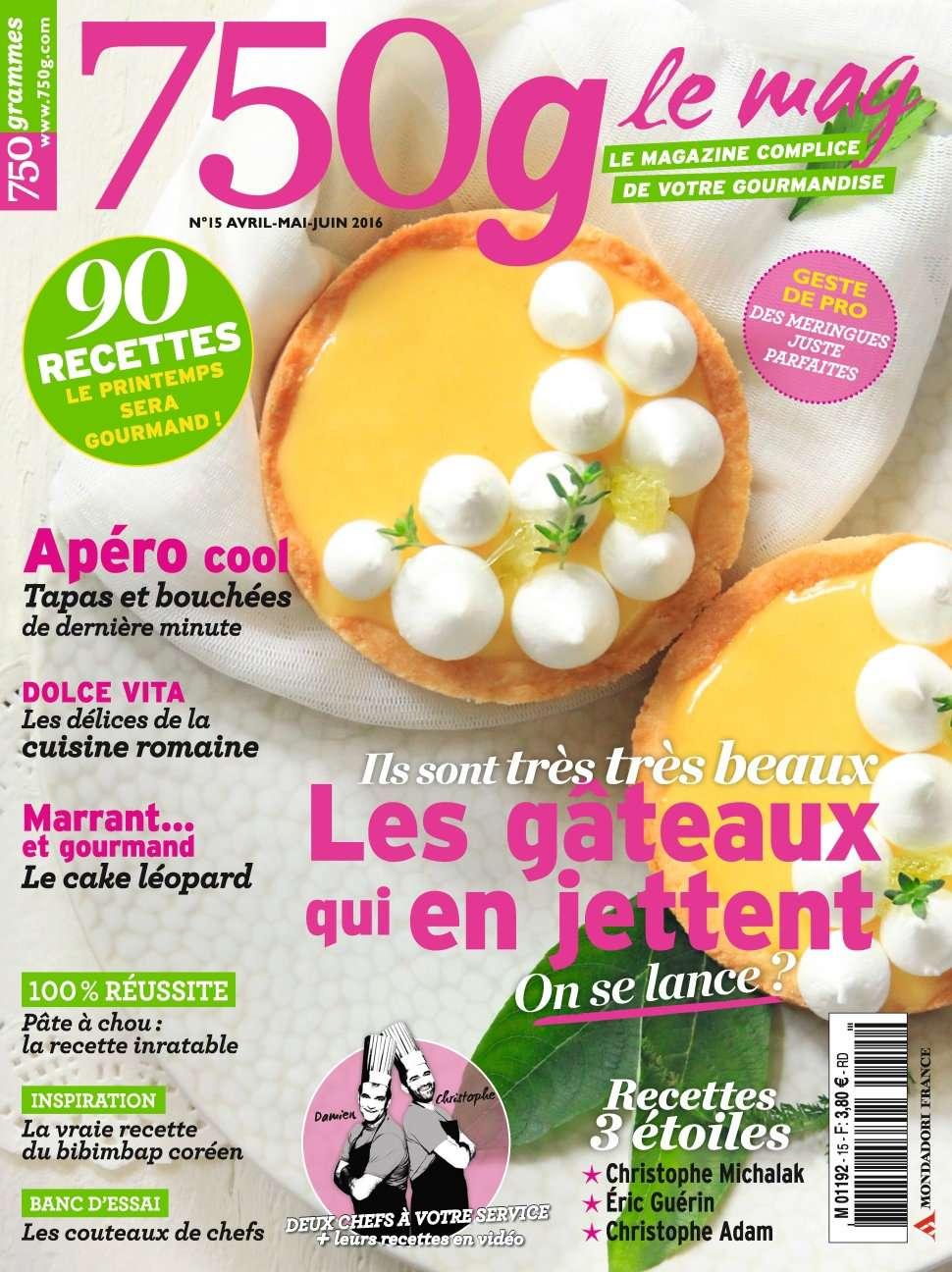750g Le mag 15 - Avril/Mai/Juin 2016