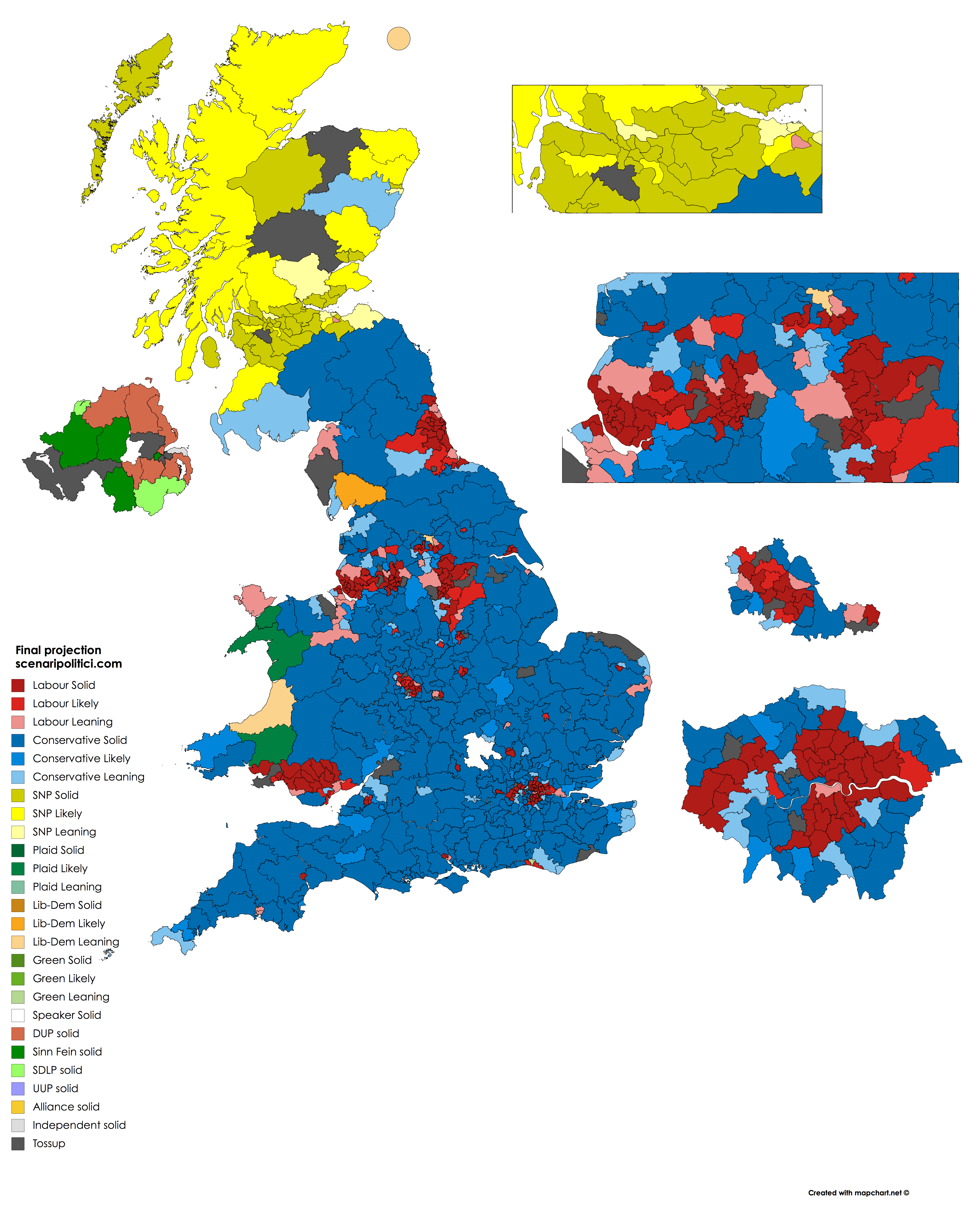 UK General Election 2017 – 21 may