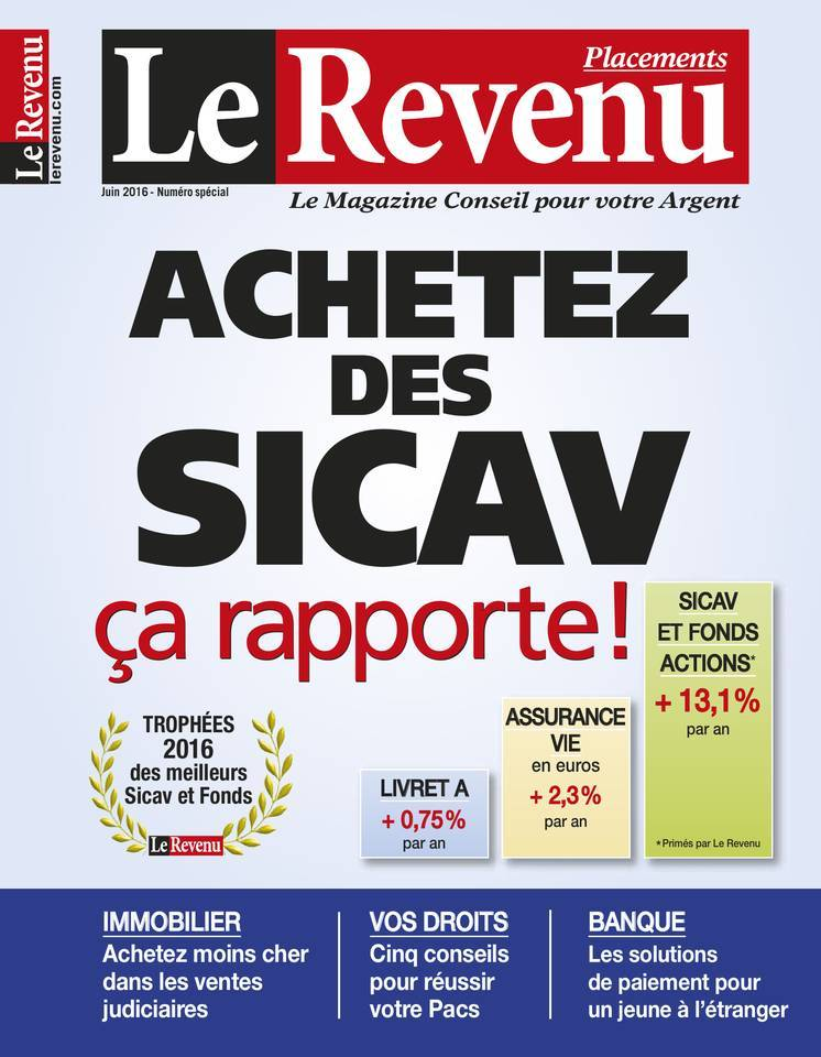 Le Revenu Placements - Juin 2016