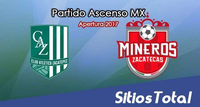 Atlético Zacatepec vs Mineros de Zacatecas en Vivo – Jornada 11 Apertura 2017 Ascenso MX – Sábado 14 de Octubre del 2017