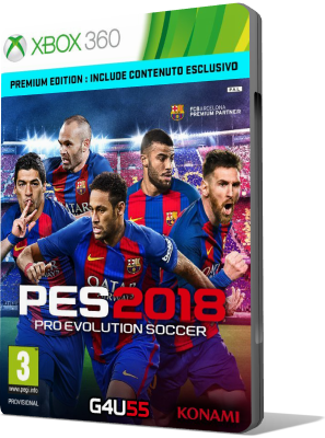 [XBOX360] Pro Evolution Soccer 2018 (2017) - FULL ITA
