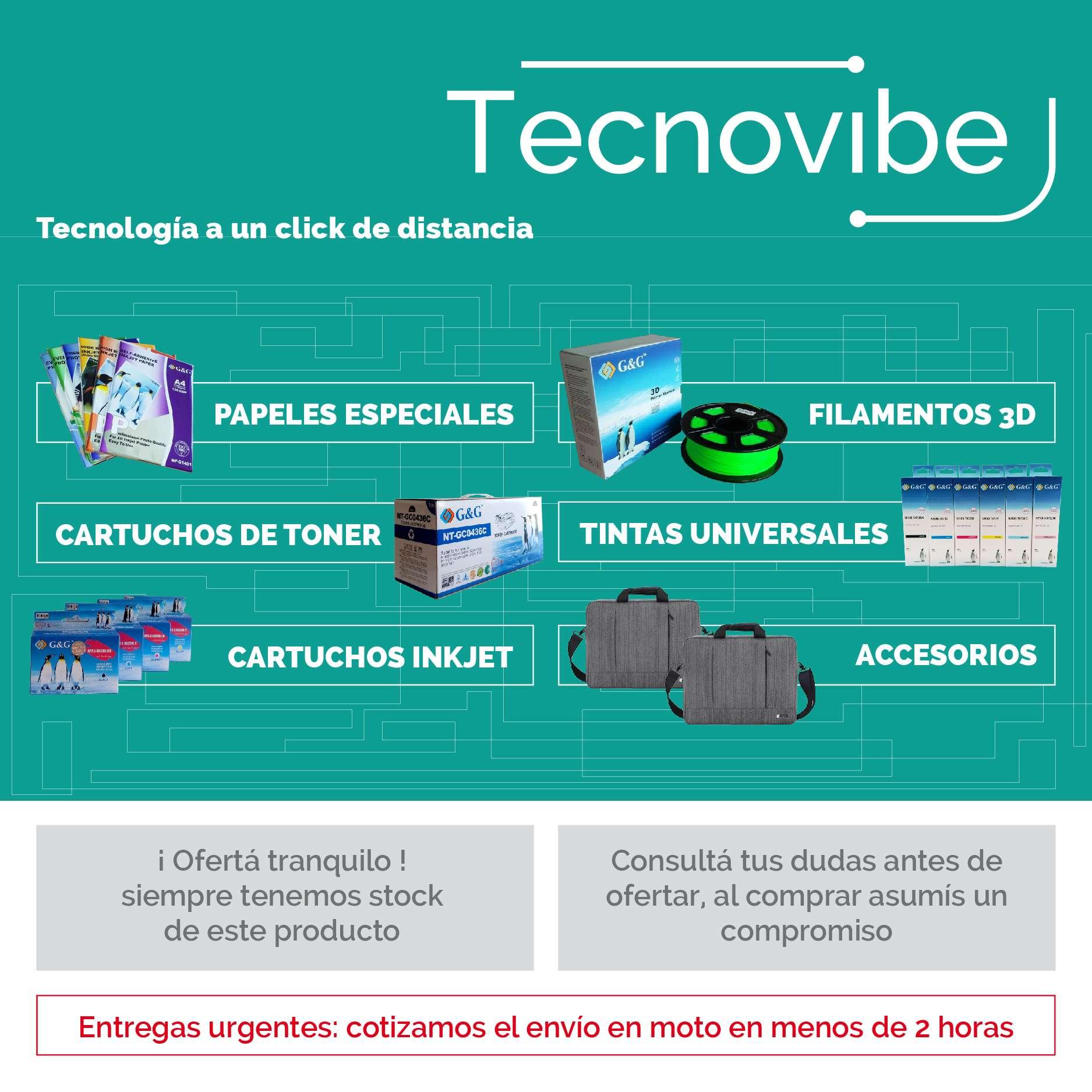 TECNOVIBE - TECNOLOGIA A UN CLICK DE DISTANCIA