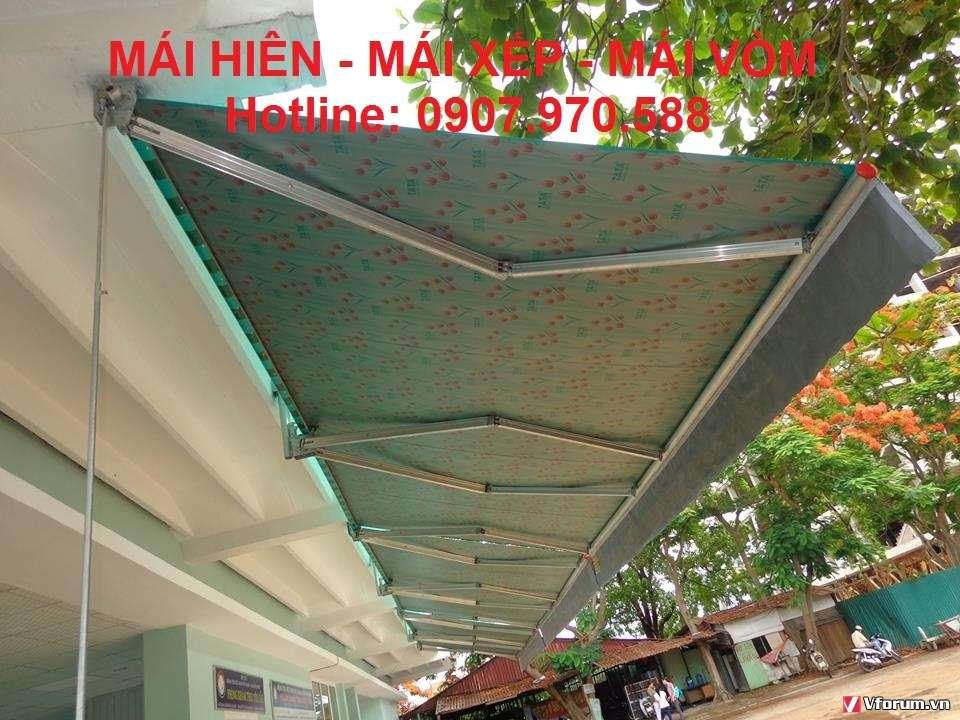 Nơi làm mái hiên xếp di động quận Phú Nhuận, Sài Gòn uy tín