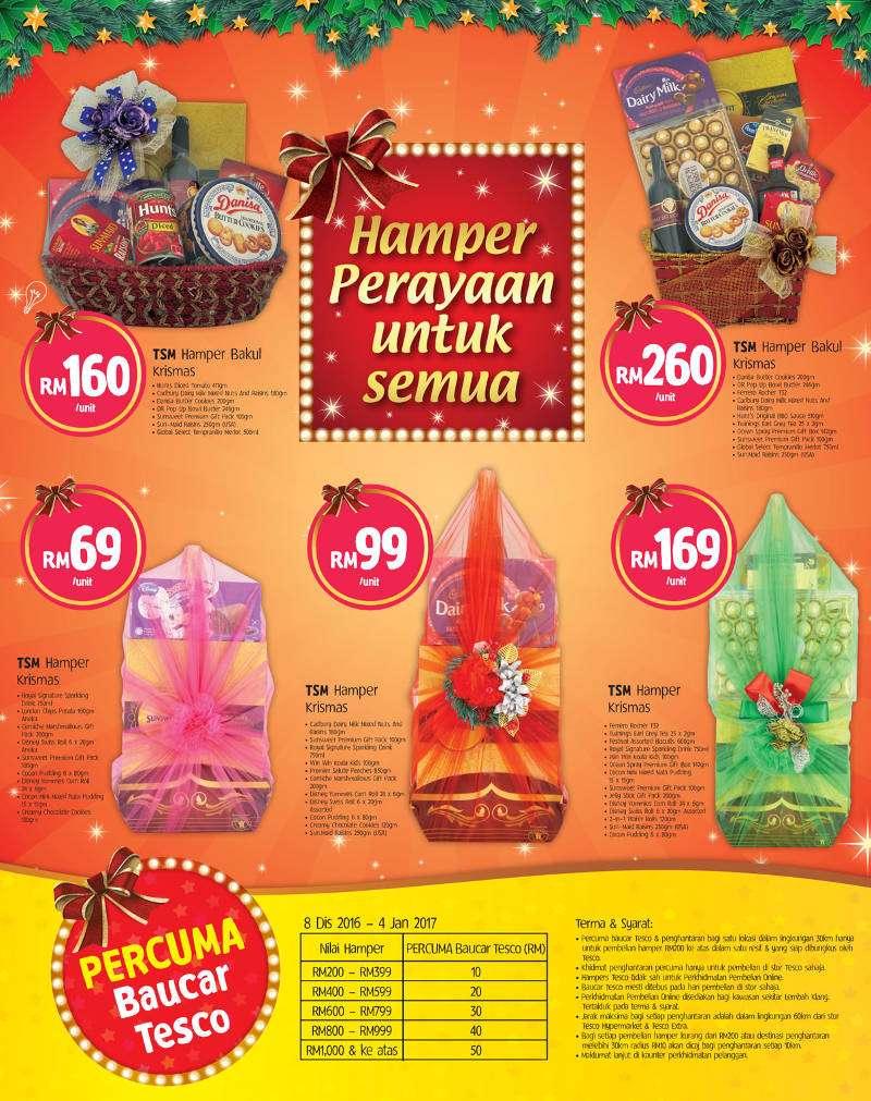 Tesco Malaysia Weekly Catalogue (22 December - 28 December 2016)
