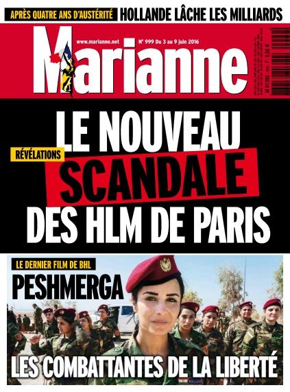 Marianne - 3 au 9 Mai 2016