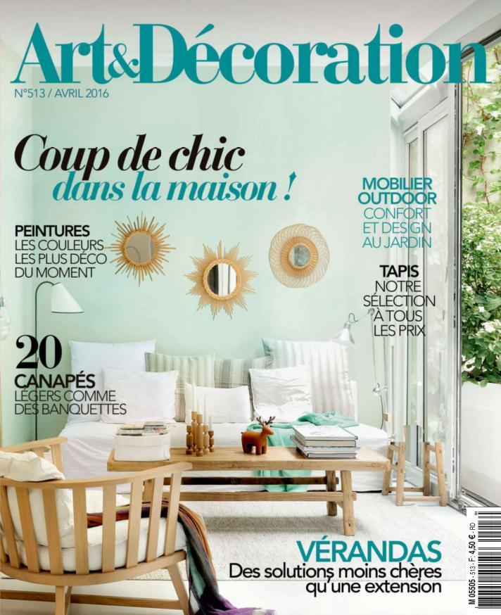 Art & Décoration 513 - Avril 2016