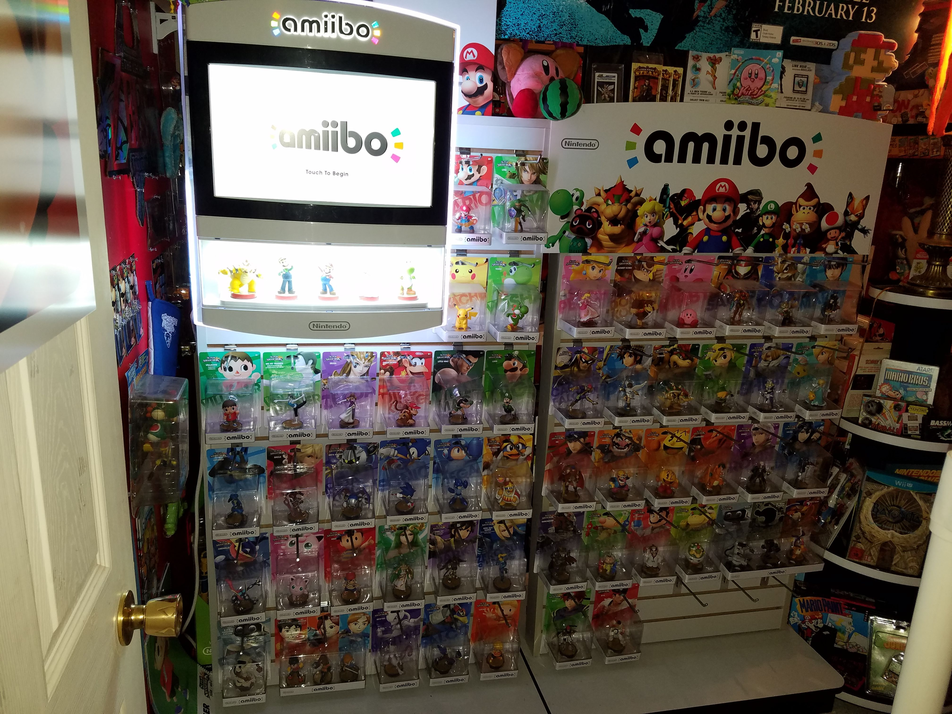 got my amiibo retail screen yesterday collection is looking good