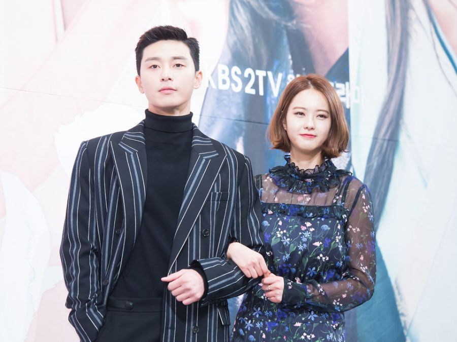 Park Seo-Joon & Go Ara