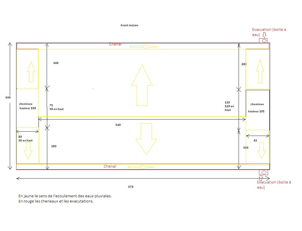 Forum : Plan de charpente pour toit terrasse