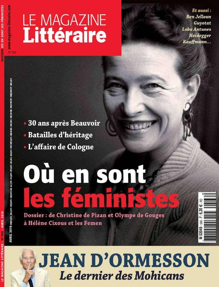 Le Magazine Littéraire - Avril 2016