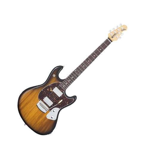 Musicman - Guitarra Electrica Stingray con Estuche, Color: Sombra Mod.825-AA-20-03