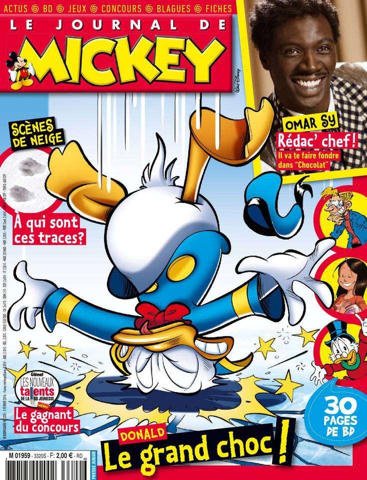 Le Journal de Mickey - 3 au 9 Février 2016