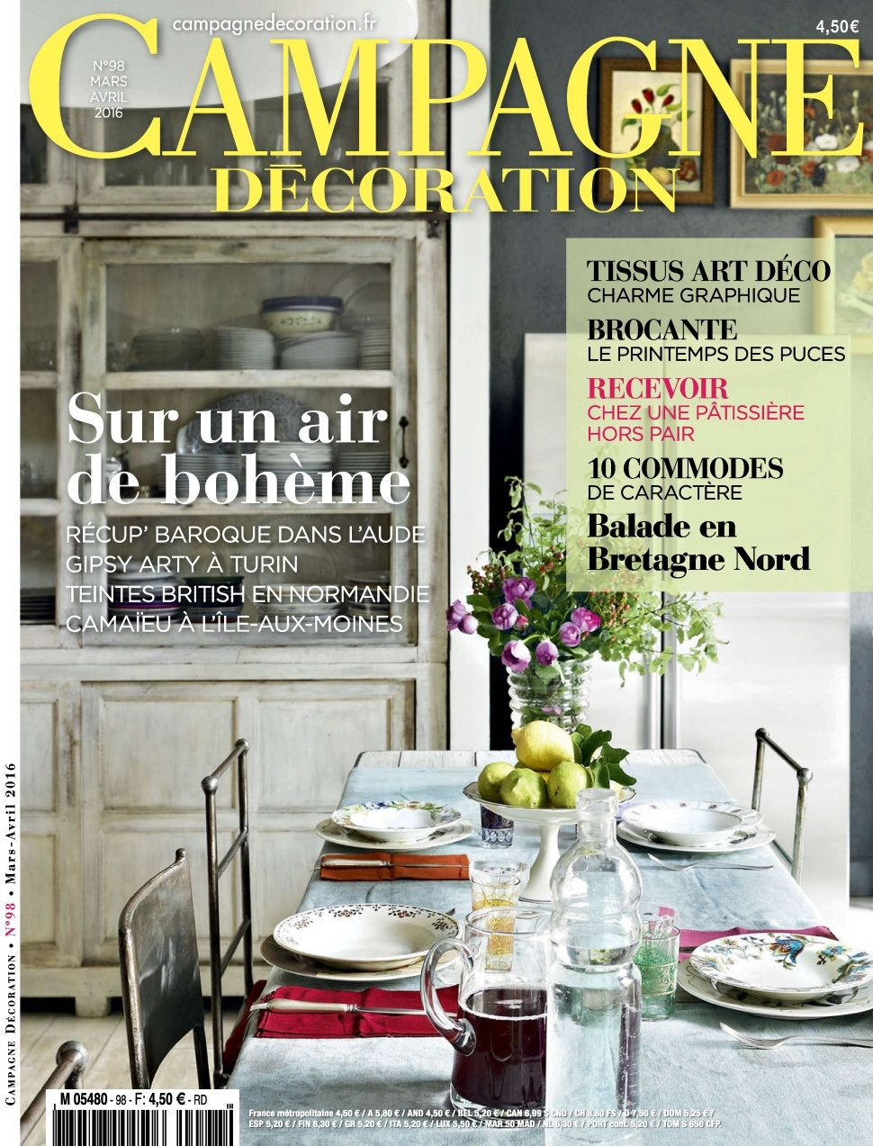 Campagne Décoration 98 - Mars/Avril 2016
